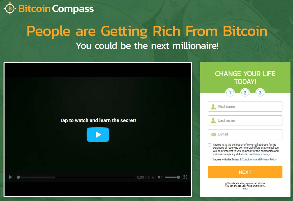 Bitcoin Compass App Review