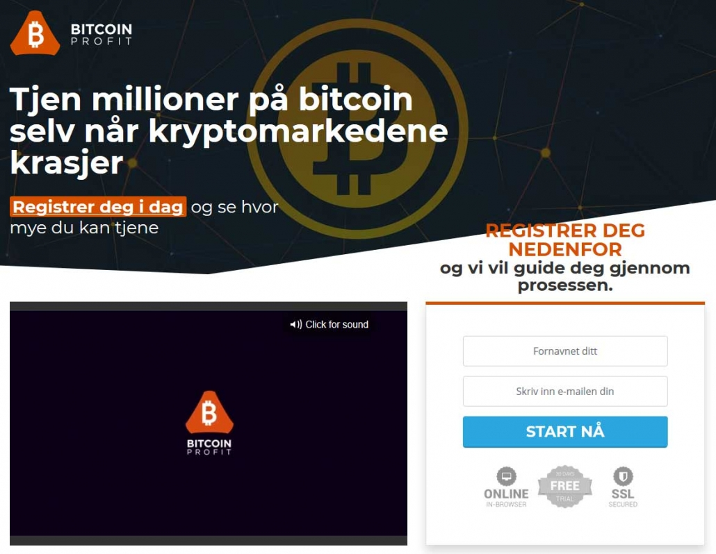 Bitcoin Profit Anmeldelse